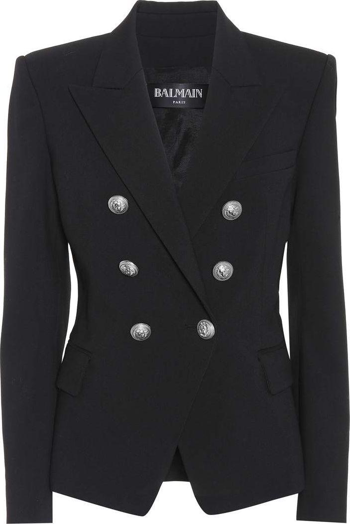 Balmain - Wool-blend blazer