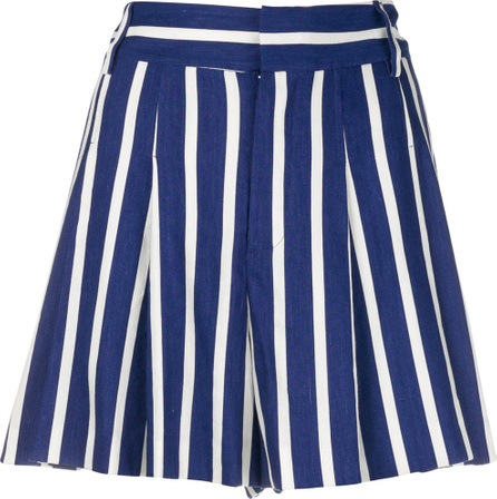 Alice + Olivia Striped culotte shorts