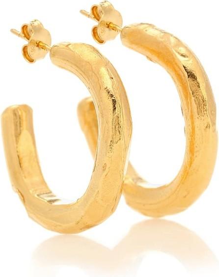 Alighieri The Etruscan Reminder 24kt gold-plated hoop earrings