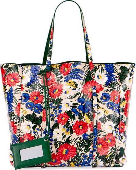 Balenciaga Everyday Floral Animation Tote Bag