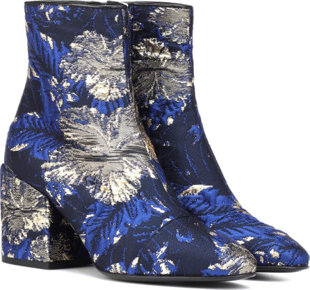 Dries Van Noten Brocade ankle boots