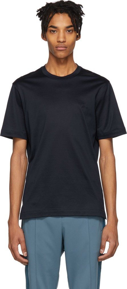 Brioni Blue Logo T-Shirt