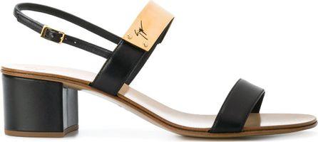 Giuseppe Zanotti Plated-strap sandals