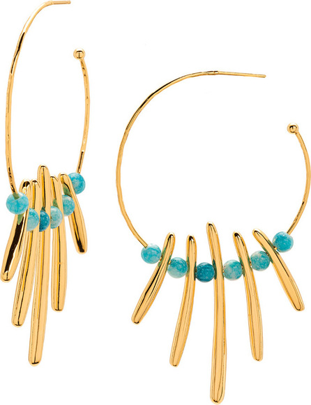 Gorjana Makena Profile Hoop Earrings