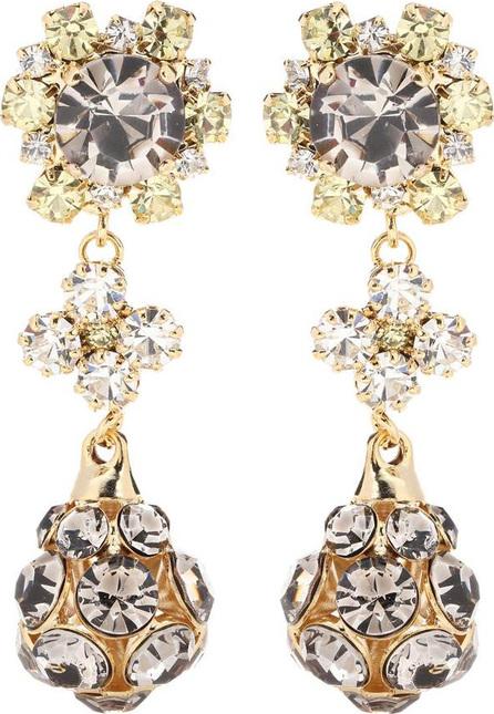 Erdem Crystal-embellished earrings
