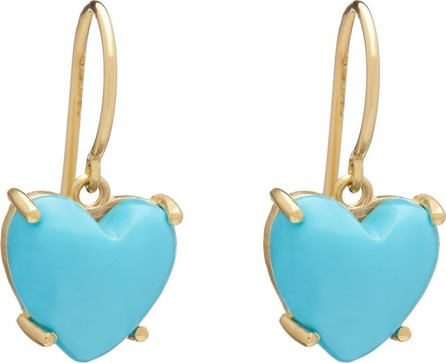 Irene Neuwirth Love turquoise & 18kt gold earrings