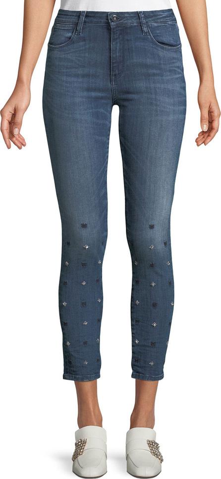 Brockenbow Reina Star-Ice Skinny Crop Jeans