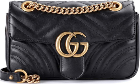 Gucci GG Marmont Mini matelassé leather shoulder bag