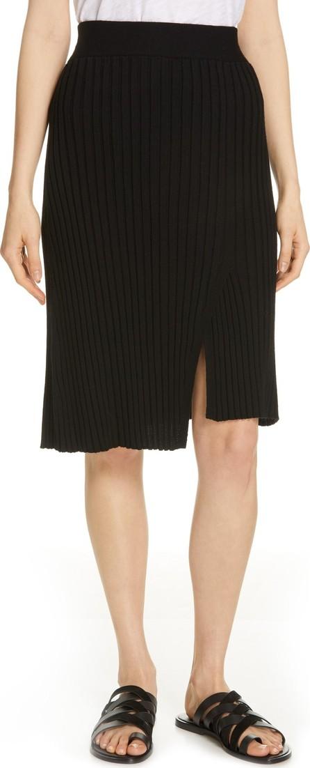 ATM Anthony Thomas Melillo Ribbed Merino Wool Skirt