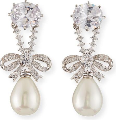 Fallon Knightsbridge Pearly-Drop Earrings