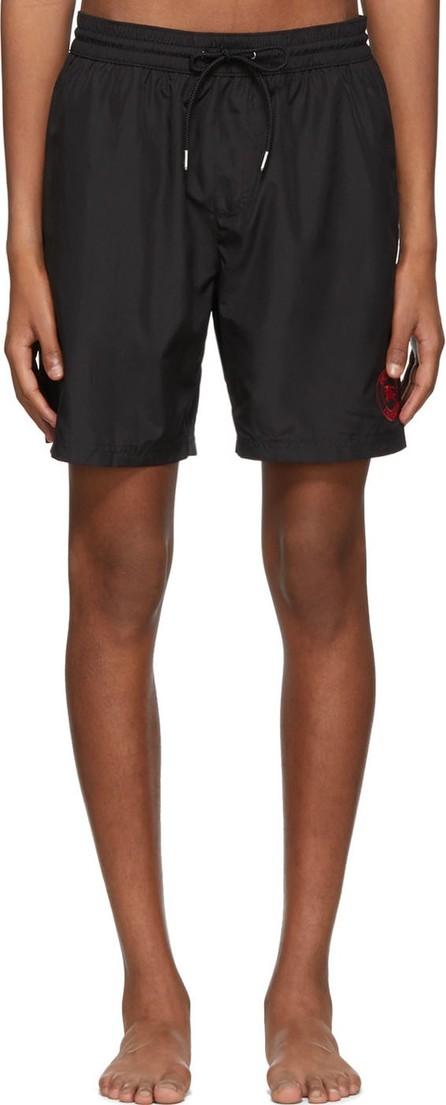 Burberry London England Black Guildes Logo Swim Shorts