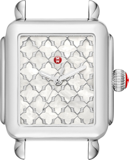 MICHELE Deco Mosaic Stainless Steel Watch Head
