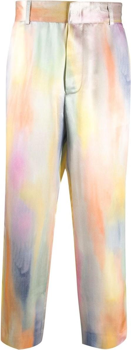 Sies Marjan Abstract print trousers