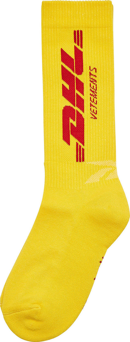 Vetements DHL Printed Socks with Cotton