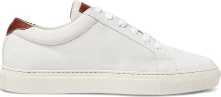 Brunello Cucinelli Leather-Trimmed Suede Sneakers