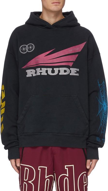 RHUDE 'Rhonda 2' graphic print hoodie