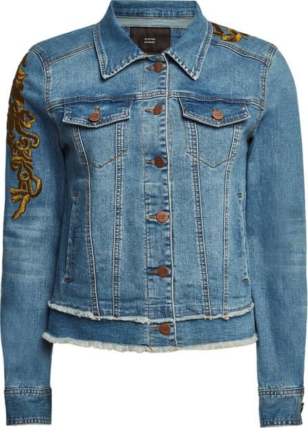 Steffen Schraut Embroidered Denim Jacket