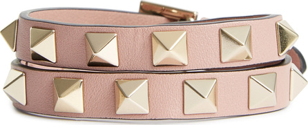 Valentino GARAVANI Leather Double Bracelet