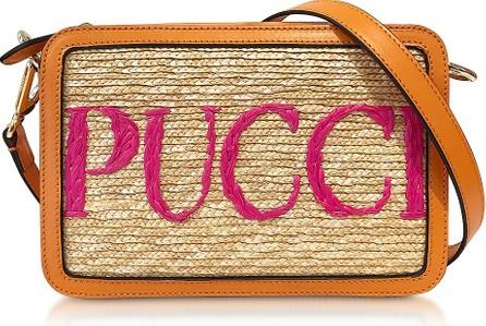 Emilio Pucci Signature Mini bag w/Leather Shoulder Strap