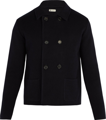 Connolly Double-breasted knitted blazer