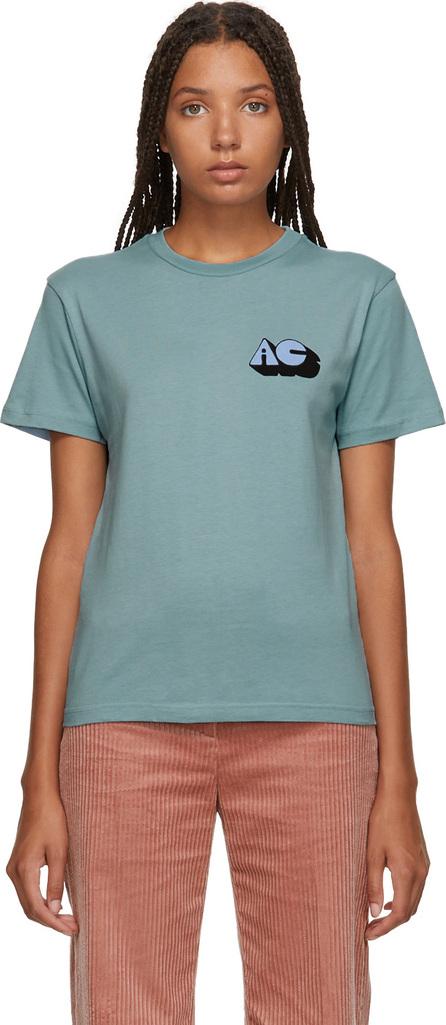 Alexachung SSENSE Exclusive Blue 'Alexa' T-Shirt