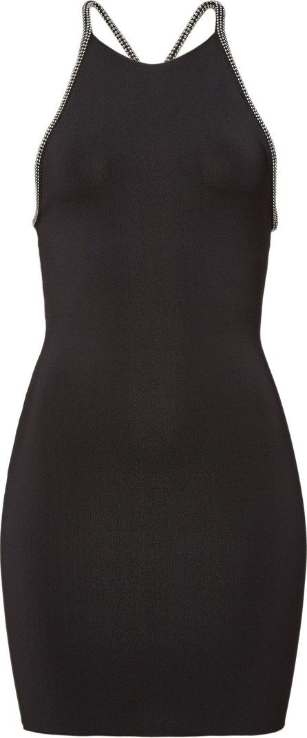 Alexander Wang Halter Mini Dress with Beads