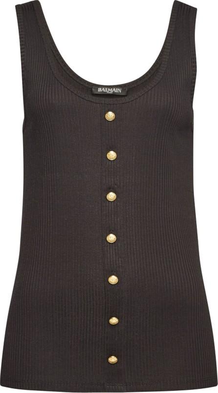 Balmain Sleeveless Top with Cotton