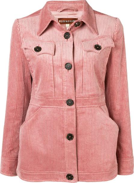 Alexa Chung Corduroy button-down jacket