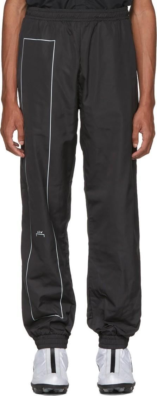 A-Cold-Wall* Black Rectangle Print Lounge Pants