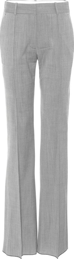 Victoria Beckham Flared wool trousers