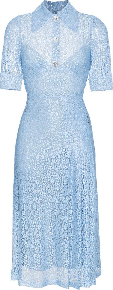 Alessandra Rich Infermiera Floral Lace Dress