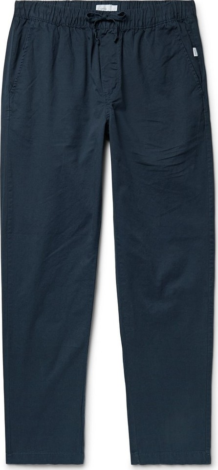 Onia Jimmy Slim-Fit Cotton-Twill Drawstring Trousers