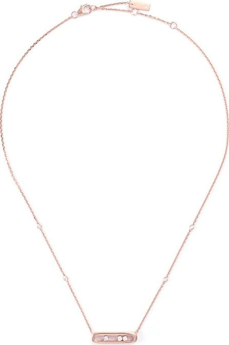 Messika 'Baby Move' diamond 18k rose gold pendant necklace