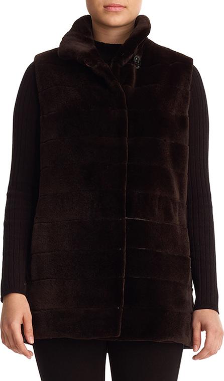 Gorski Reversible Sheared Mink Fur Vest