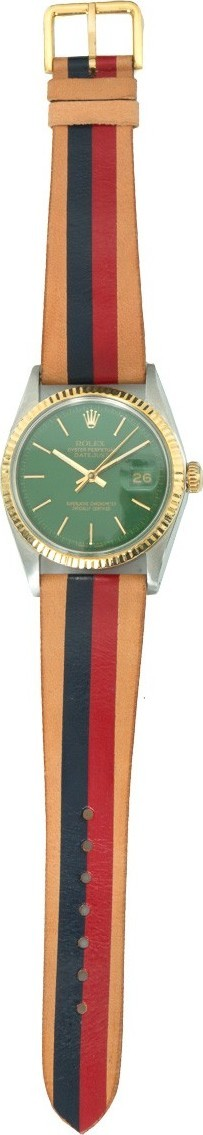 laCalifornienne Rolex Oyster Perpetual Datejust two tone watch