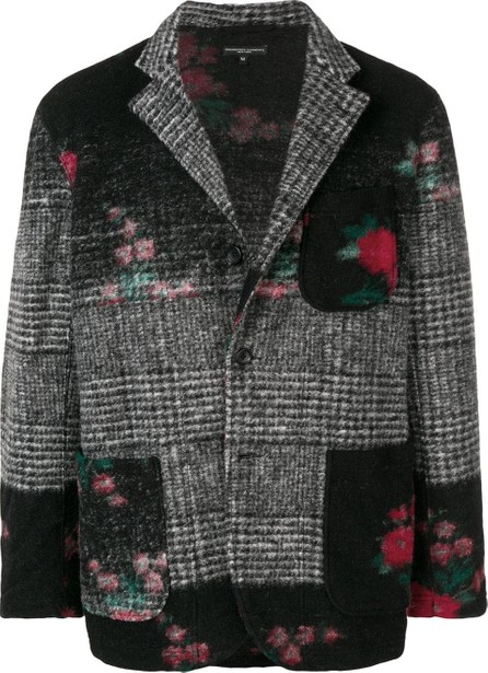 Engineered Garments Patchwork knitted blazer