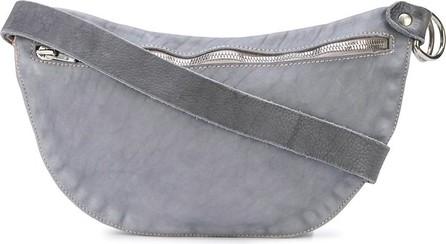 Guidi Marble-effect messenger bag