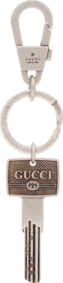 Gucci Logo metal key ring