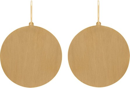 Irene Neuwirth Circle 18kt gold earrings