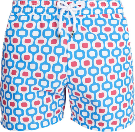 Frescobol Carioca Sports Ipanema-print swim shorts
