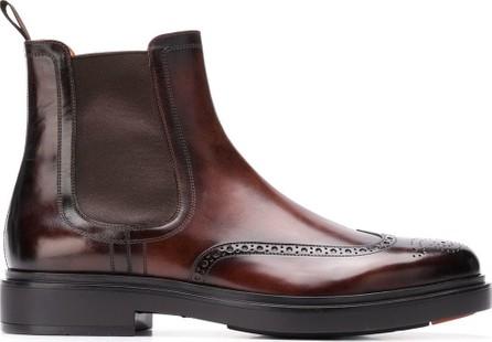 Santoni Elasticated ankle boots