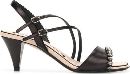 Nº21 Mid-heel strappy sandals