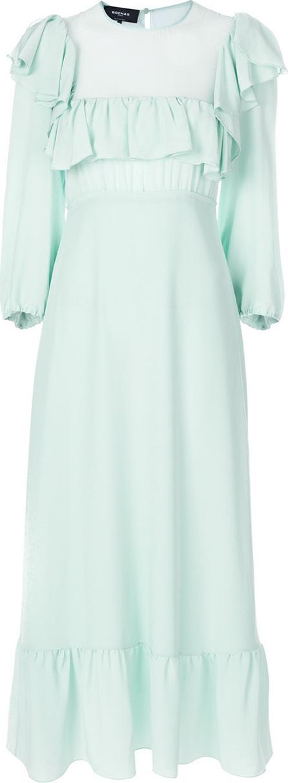 ROCHAS Ruffle detail gown