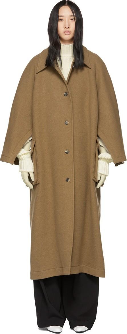 A.W.A.K.E Tan Open Raglan Sleeve Coat