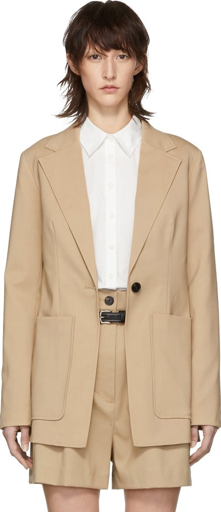 3.1 Phillip Lim Beige Wool Tailored Blazer