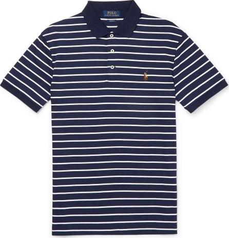 Polo Ralph Lauren Slim-Fit Striped Cotton Polo Shirt