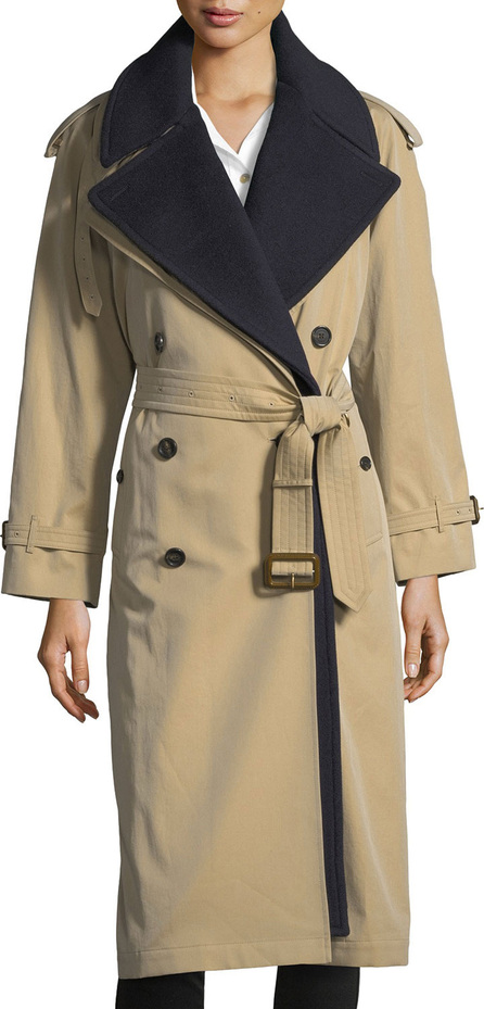 Burberry London England Eastheath Double-Breasted Trench Coat