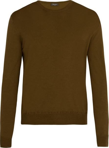 Berluti Crew neck wool sweater