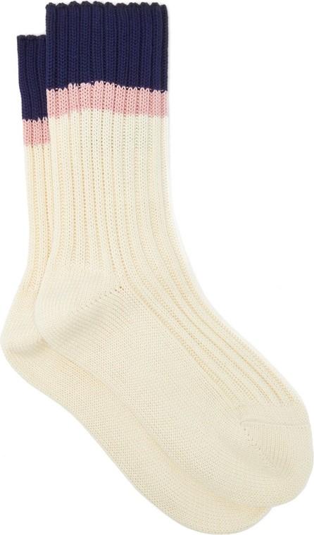 Prada Jacquard-stripe cotton-blend socks