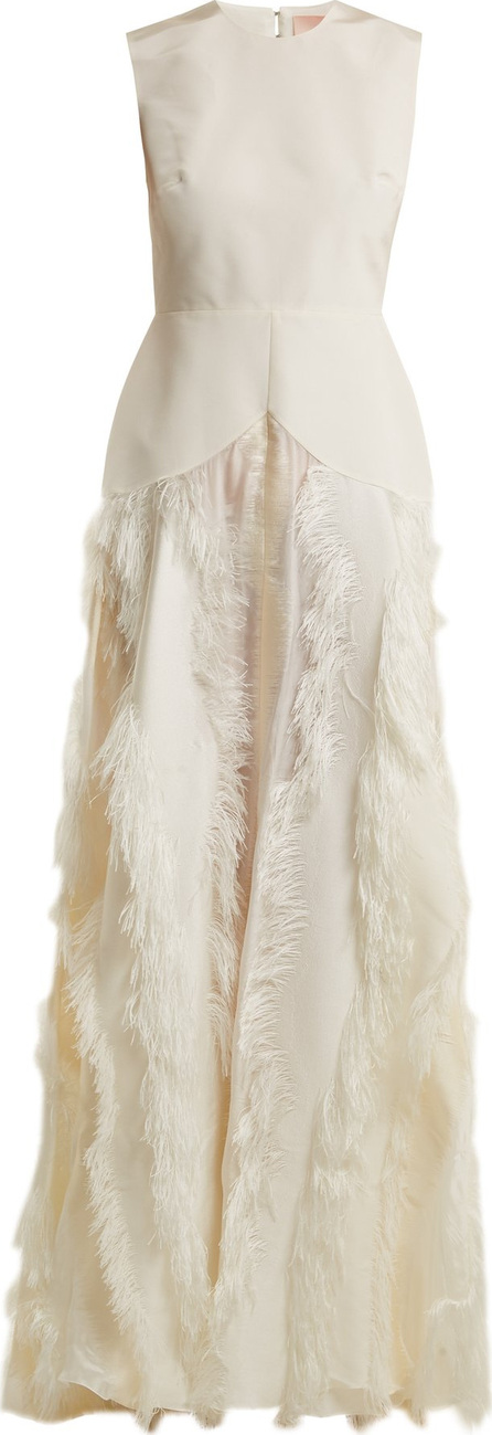 Roksanda Chandra cady and fil coupé dress